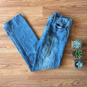 Levi's 514 Blue Jeans / GUC / 32W x 34L